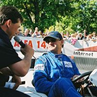 Franz Klammer beim Cart City Circuit in Velden © ccc